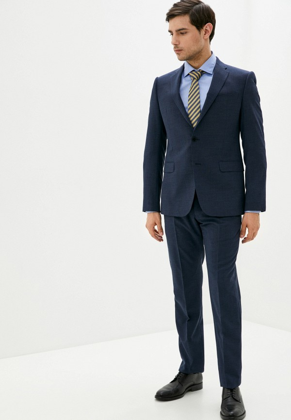 мужской классические костюм emporio armani, синий