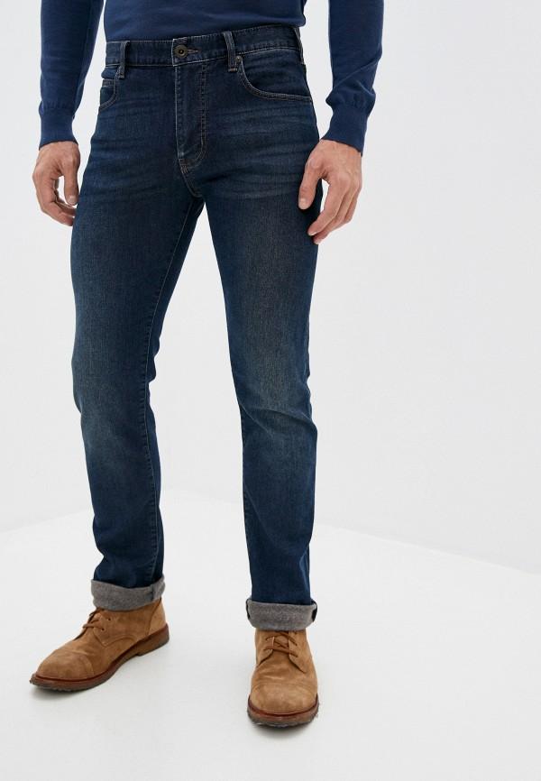 мужские прямые джинсы emporio armani, синие