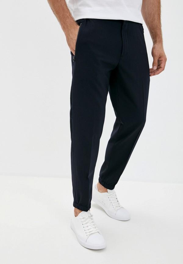 мужские повседневные брюки emporio armani, синие