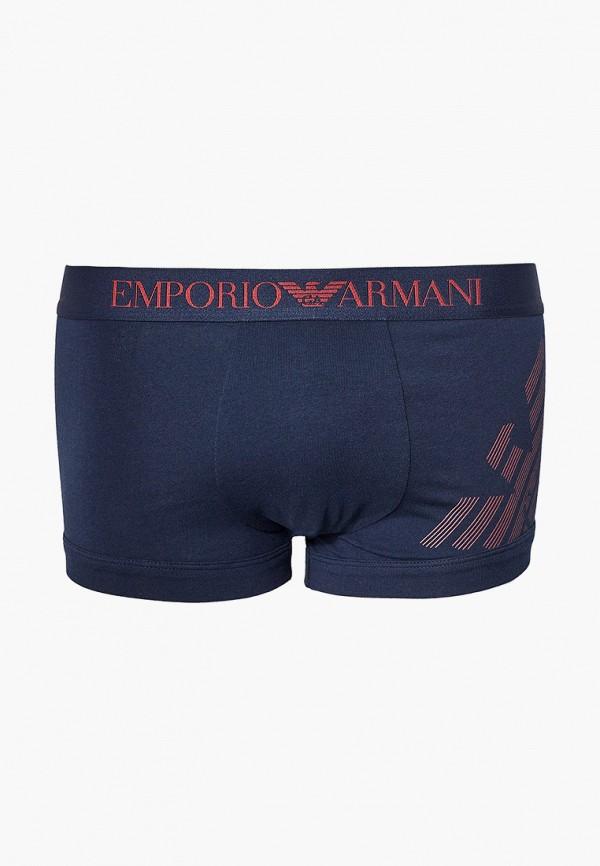 мужские трусы-боксеры emporio armani, синие