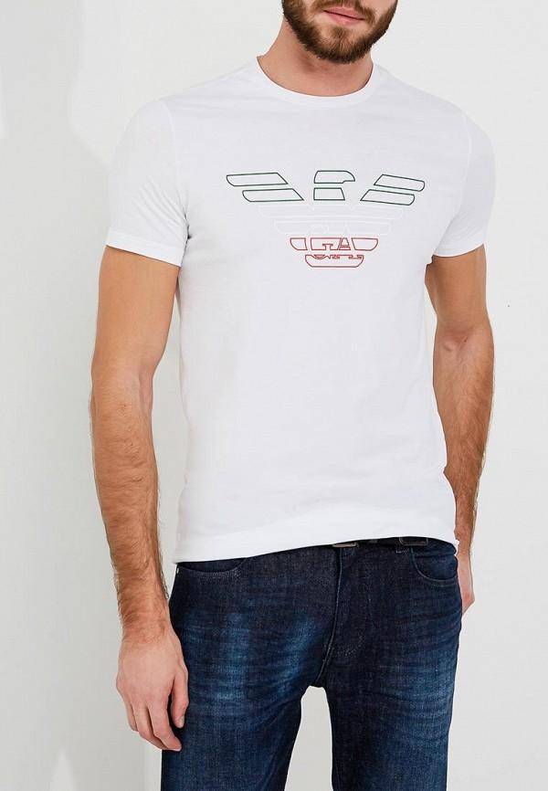 Футболка Emporio Armani Emporio Armani EM598EMZWH15 футболка мужская emporio armani anh05 cc ea