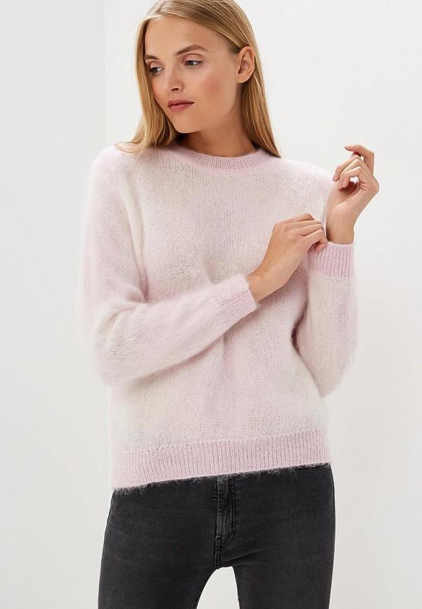 женский джемпер emporio armani, розовый