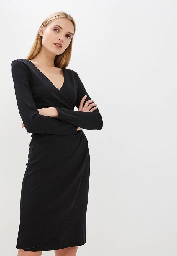 женское повседневные платье emporio armani, черное