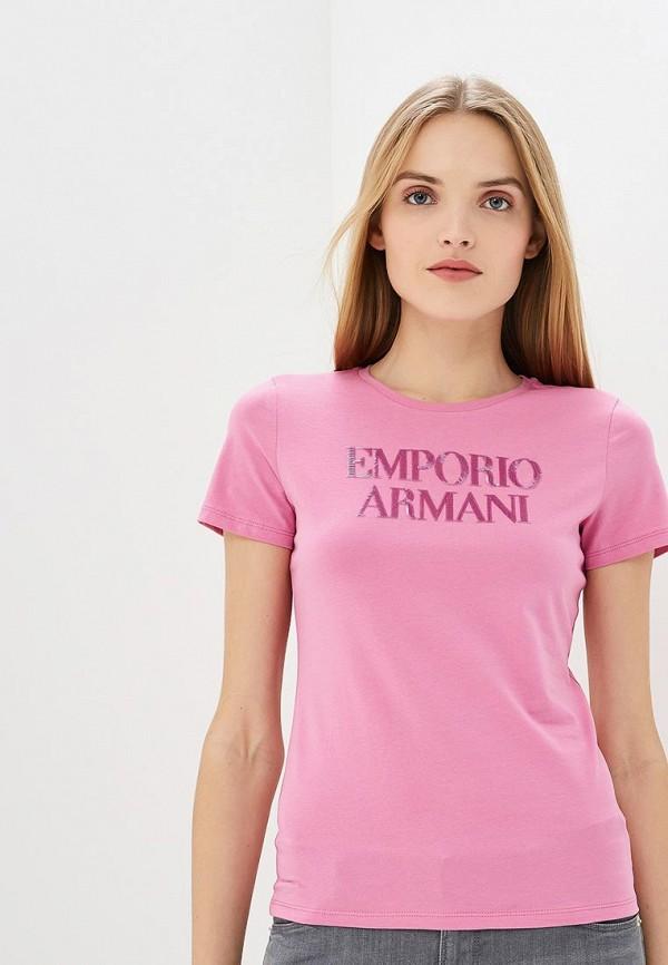 Футболка Emporio Armani Emporio Armani EM598EWDPUR5 кеды emporio armani emporio armani em598awblky1