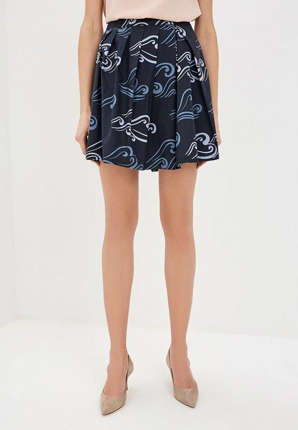 женская юбка emporio armani, синяя