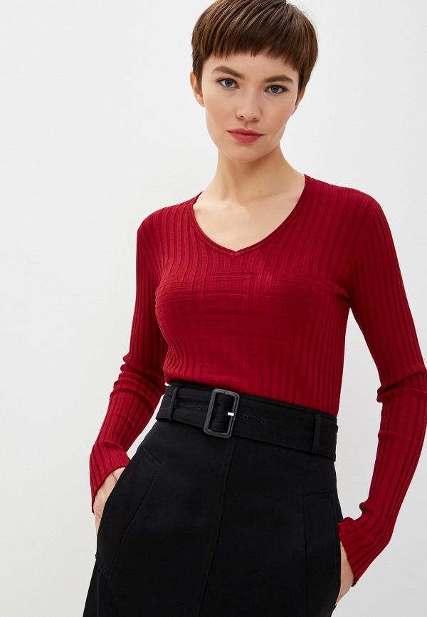 женский пуловер emporio armani, красный