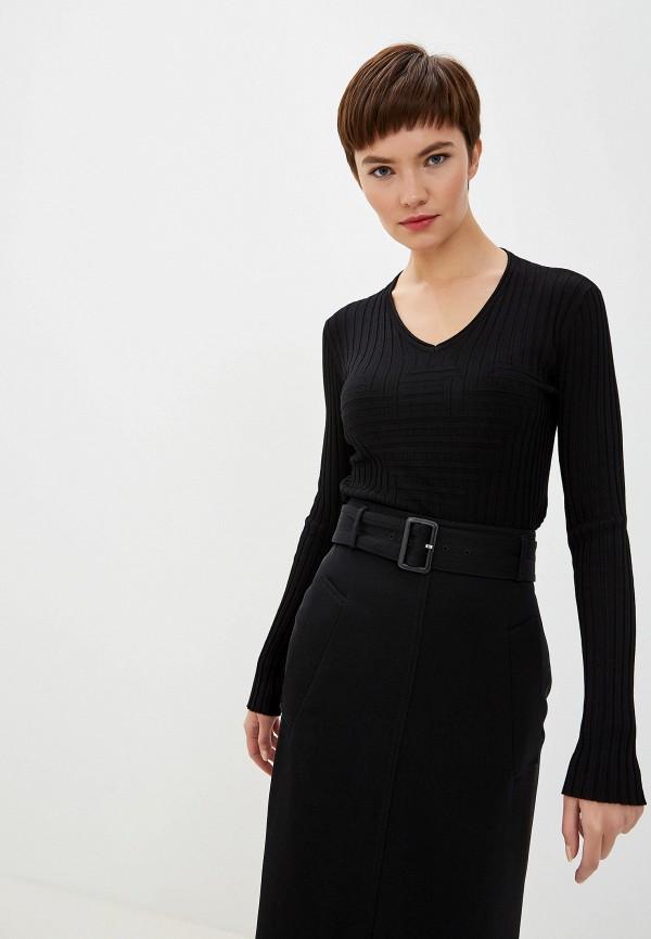 Фото - женский пуловер Emporio Armani черного цвета