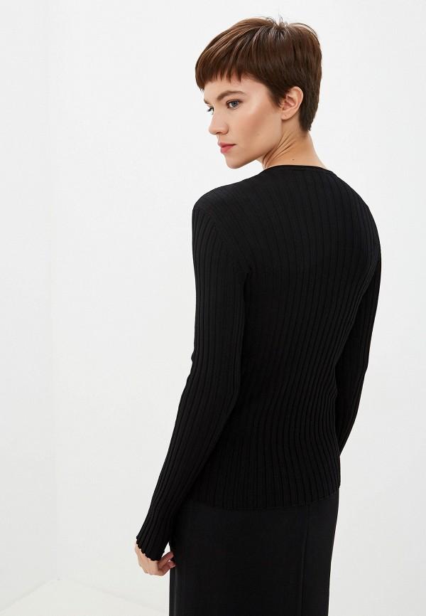 Фото 3 - женский пуловер Emporio Armani черного цвета