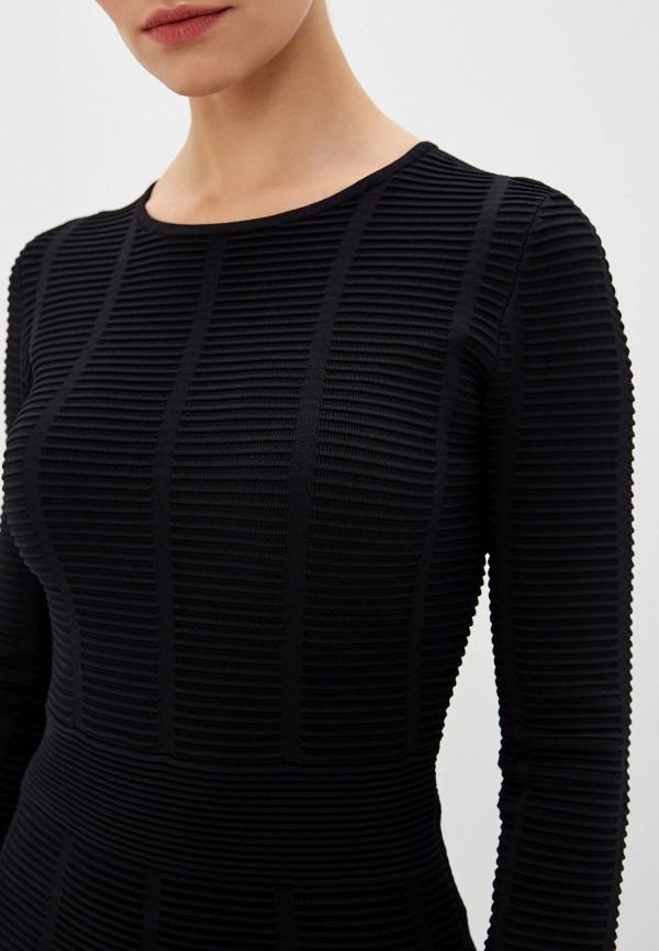 Фото 4 - женский джемпер Emporio Armani черного цвета