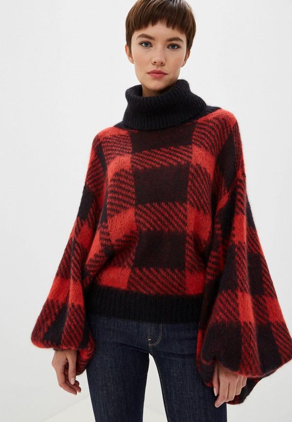 женский свитер emporio armani, красный