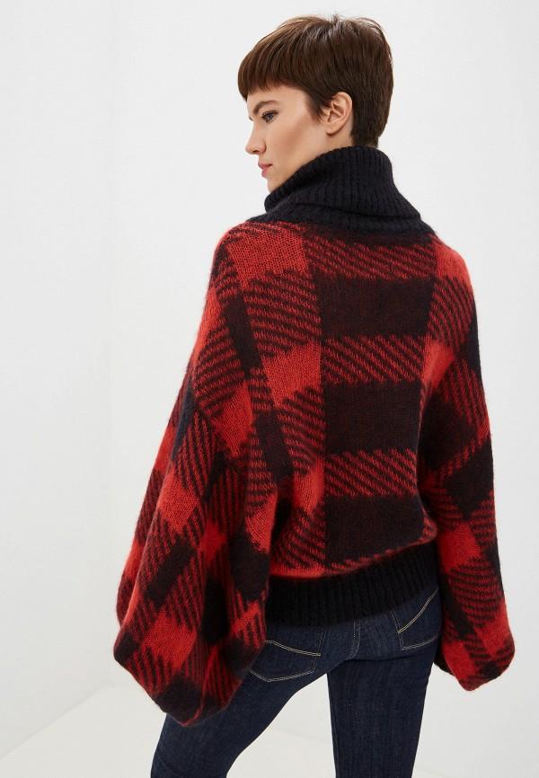 Фото 3 - женский свитер Emporio Armani красного цвета
