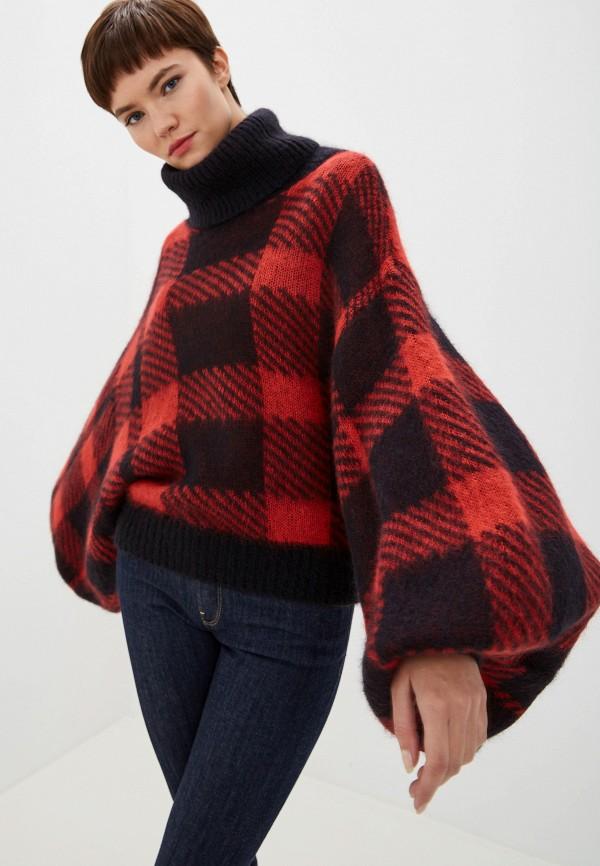 Фото 5 - женский свитер Emporio Armani красного цвета