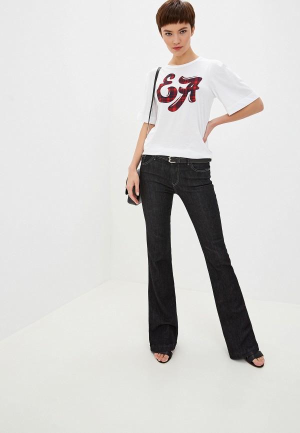 Фото 2 - женские джинсы Emporio Armani черного цвета