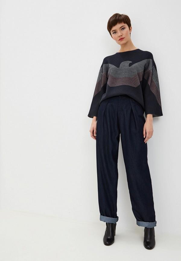 Фото 2 - женские джинсы Emporio Armani синего цвета