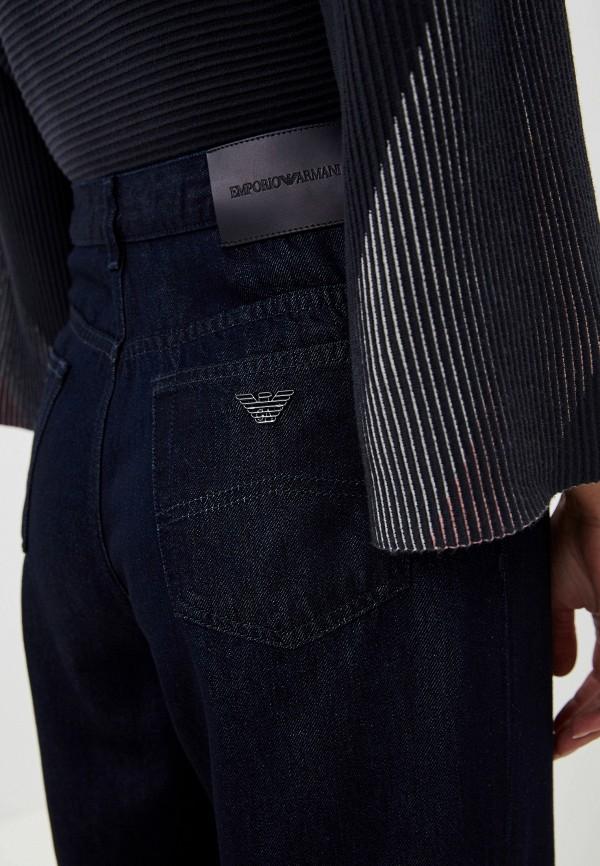 Фото 4 - женские джинсы Emporio Armani синего цвета
