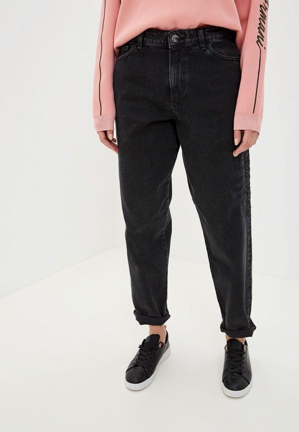 Фото - женские джинсы Emporio Armani черного цвета