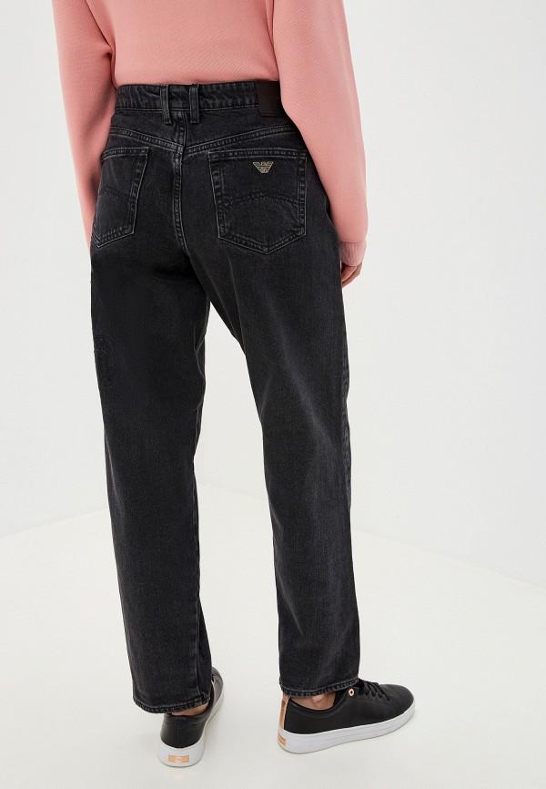 Фото 3 - женские джинсы Emporio Armani черного цвета