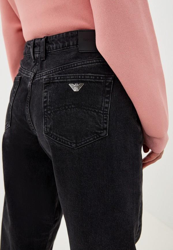 Фото 5 - женские джинсы Emporio Armani черного цвета