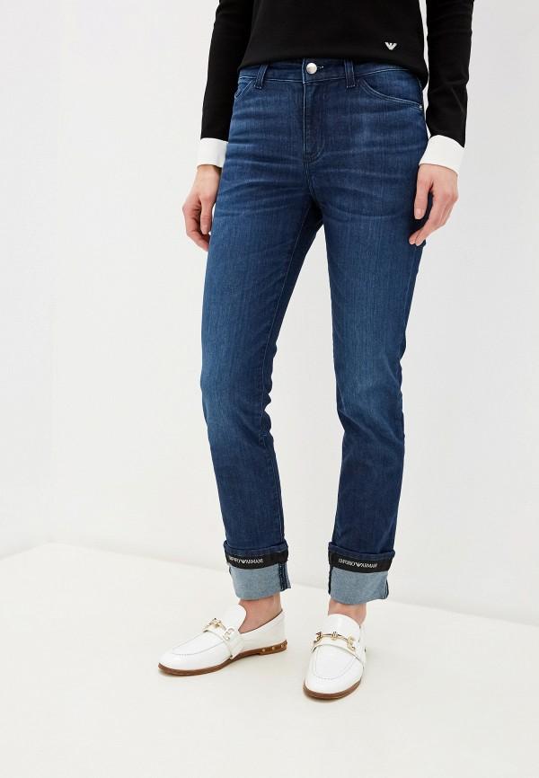 женские джинсы emporio armani, синие