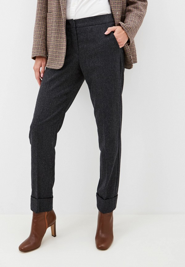 женские брюки emporio armani, серые