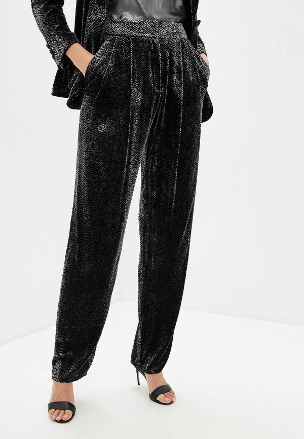 женские классические брюки emporio armani, серые