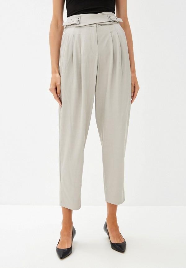 женские повседневные брюки emporio armani, серые