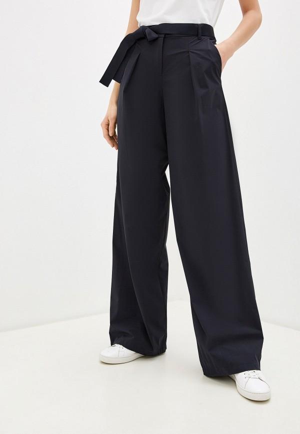 женские классические брюки emporio armani, синие