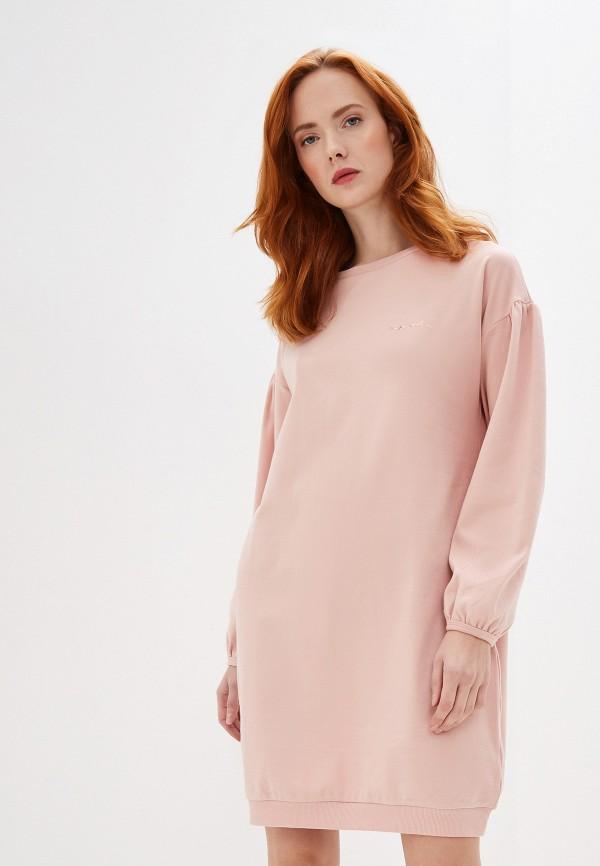 женское платье emporio armani, розовое