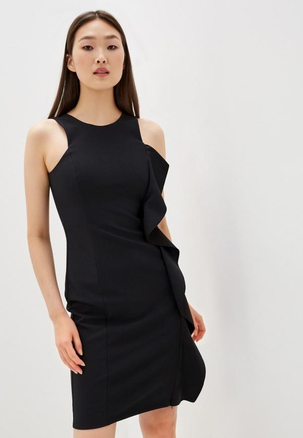 женское вечерние платье emporio armani, черное
