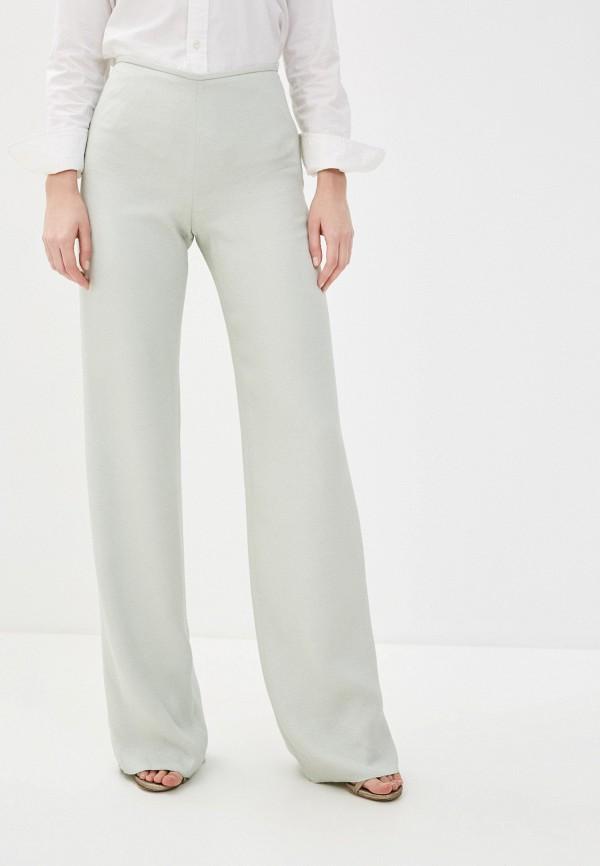 женские повседневные брюки emporio armani, зеленые