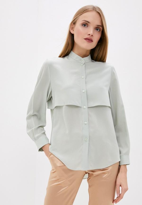 женская блузка emporio armani, зеленая