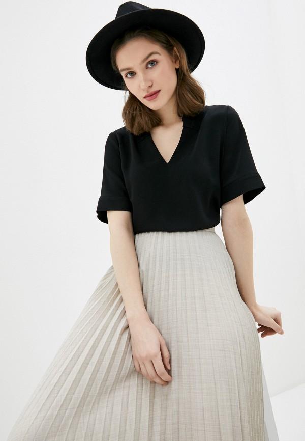 женская блузка emporio armani, черная