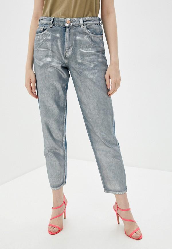 женские джинсы бойфренд emporio armani, серые