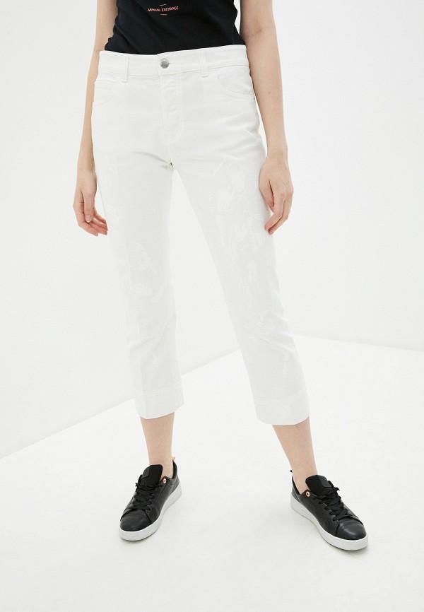 женские джинсы emporio armani, белые