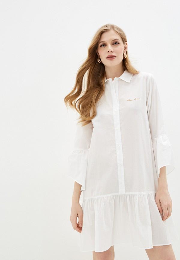 женское платье emporio armani, белое