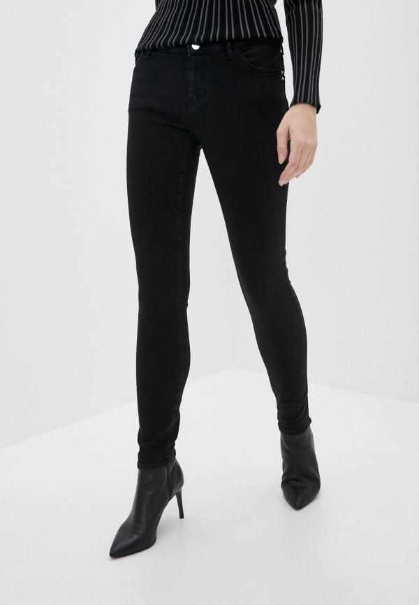 женские джинсы emporio armani, черные