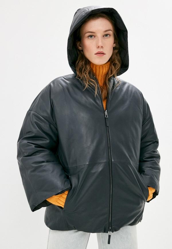 женская куртка emporio armani, разноцветная