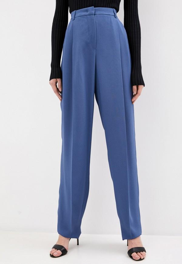 женские повседневные брюки emporio armani, синие