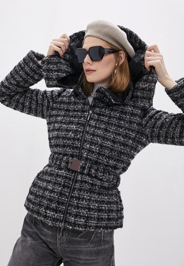 женское пальто emporio armani, серое