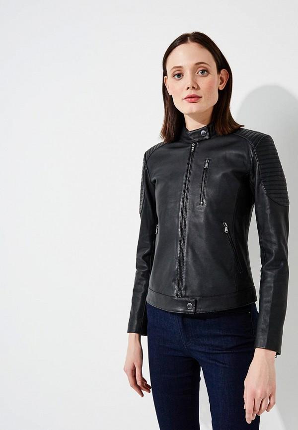 где купить Куртка кожаная Emporio Armani Emporio Armani EM598EWZWC75 по лучшей цене