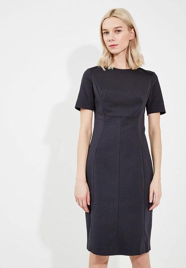 Фото 5 - женское платье Emporio Armani черного цвета