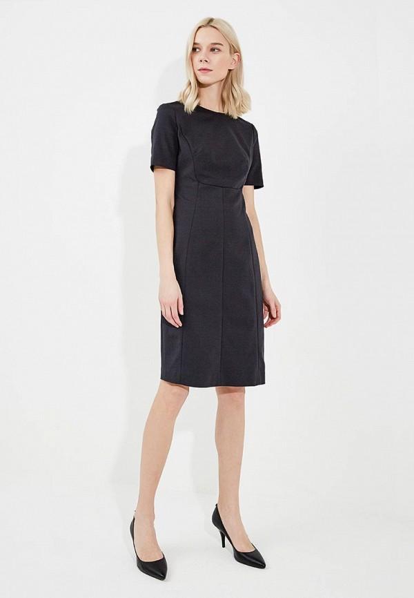 Фото 6 - женское платье Emporio Armani черного цвета