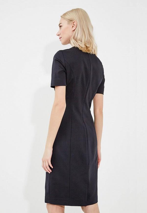 Фото 7 - женское платье Emporio Armani черного цвета