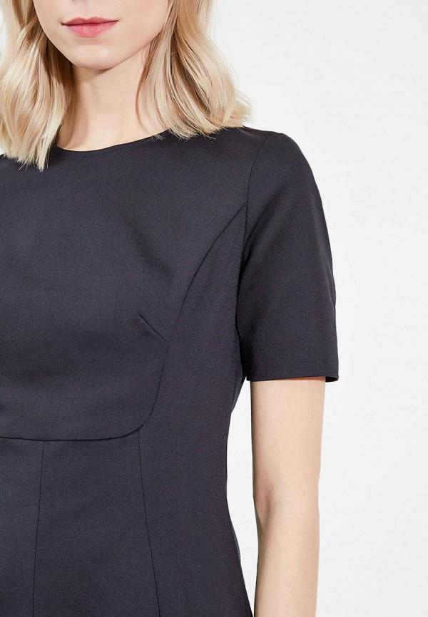 Фото 8 - женское платье Emporio Armani черного цвета