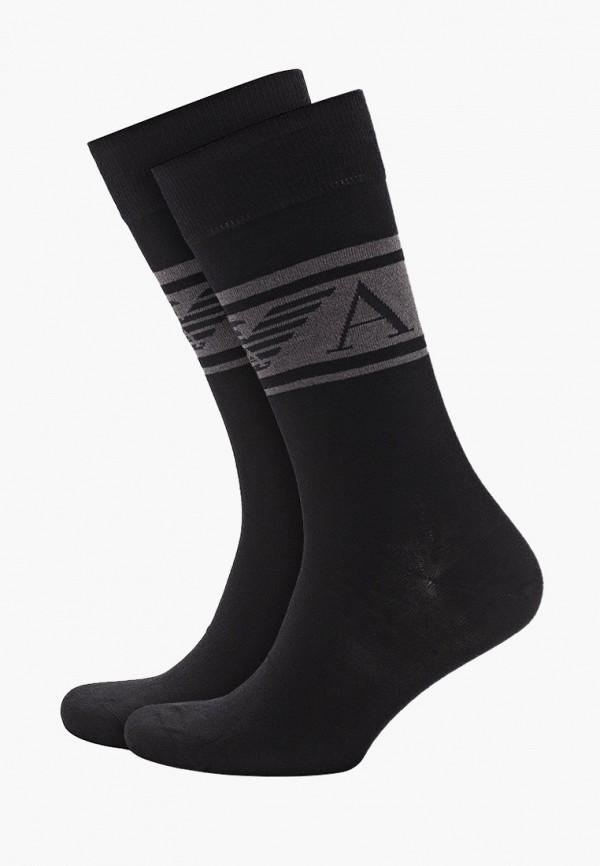 мужские носки emporio armani, синие