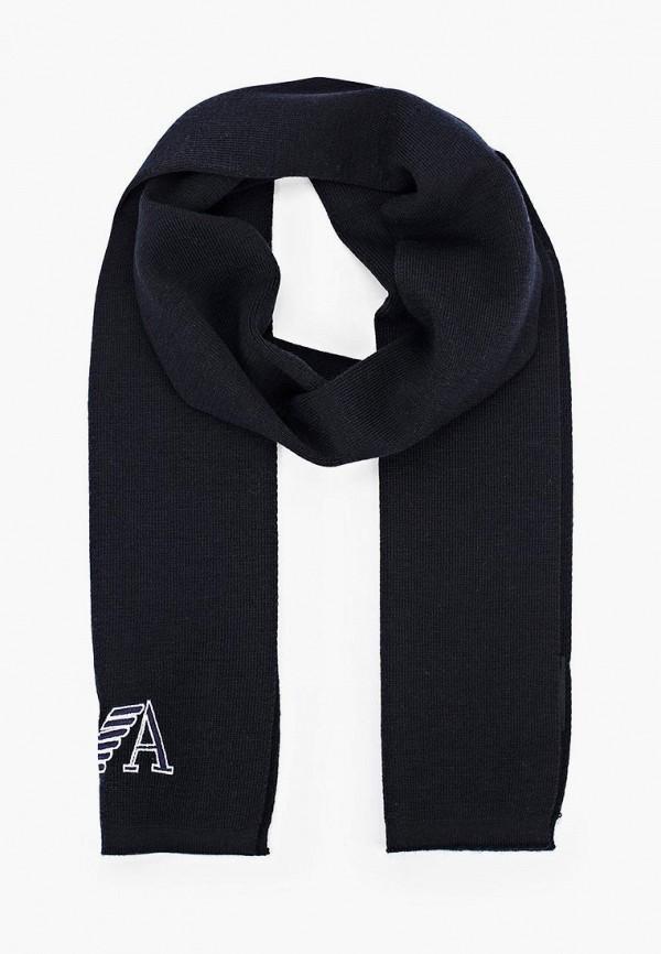 шарф emporio armani для мальчика, синий