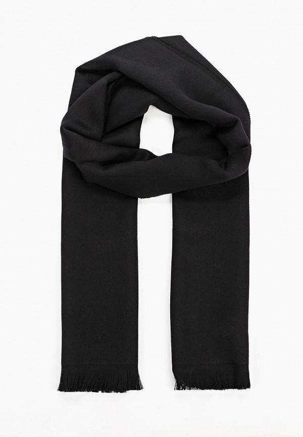 мужской шарф emporio armani, черный