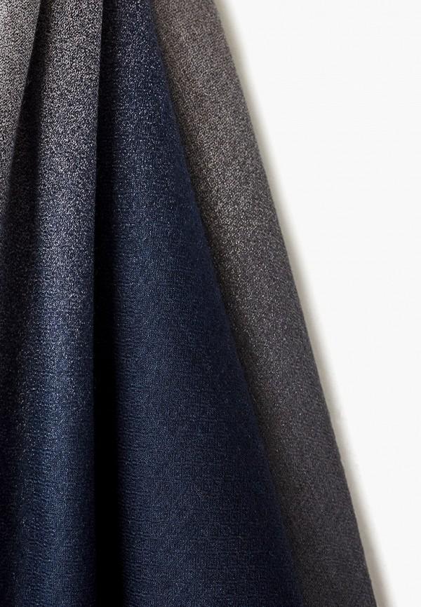 Фото 2 - женский палантин Emporio Armani синего цвета