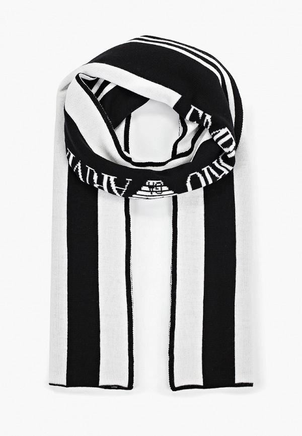 Фото - женский шарф Emporio Armani черного цвета