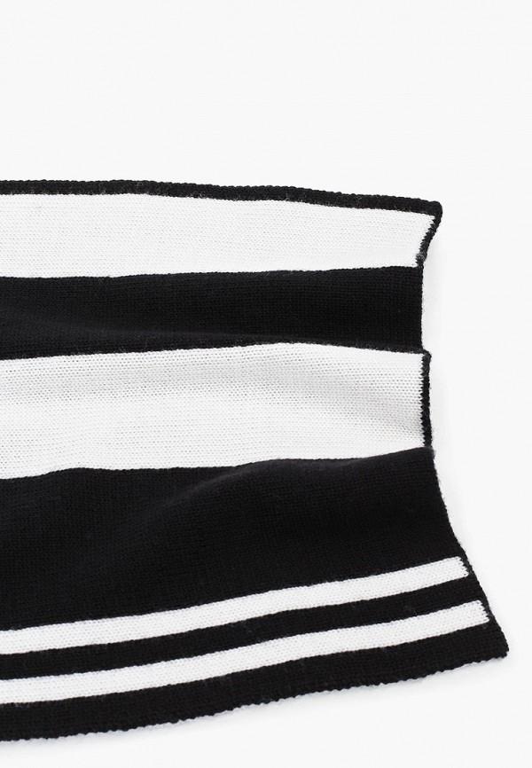Фото 2 - женский шарф Emporio Armani черного цвета